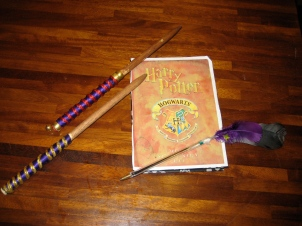 wands, journals and quills