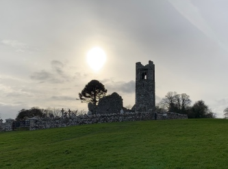 The church on the Hill of Slane